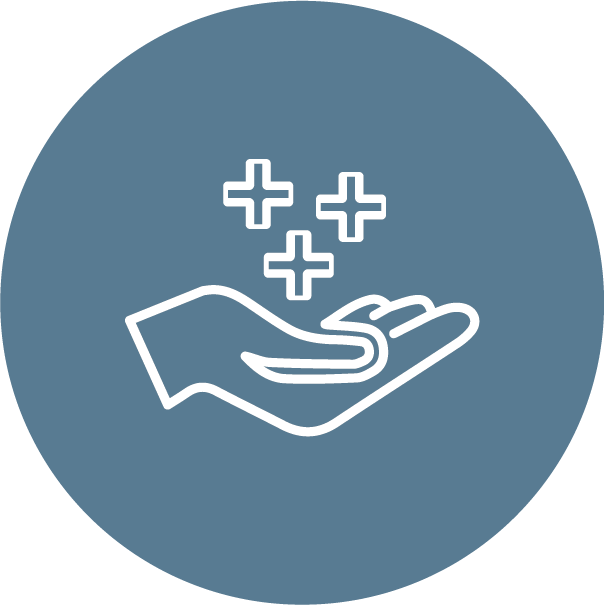 What we do_hand pluses icon